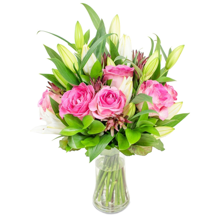 Crush On You is a Stunning Flower Bouquet Carefully Arranged by Professional Florist.